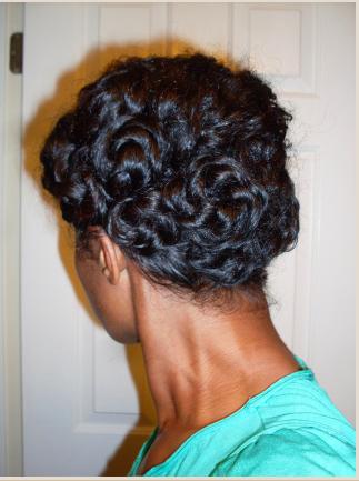 Natural pincurls