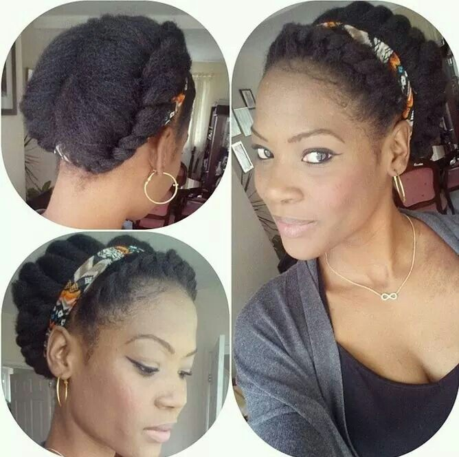 Relax Five Hairstyle For A Natural Hair Transition Moler Beauty