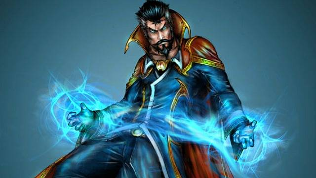 Dr. Strange Character copyright Marvel comics. Art by Yamaorce