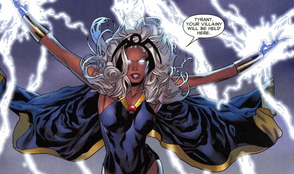 Storm character and artwork copyright Marvel Comics