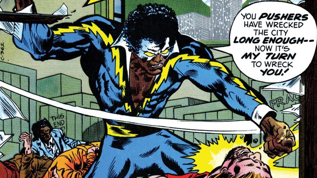 Black Lightning character and artwork copyright DC Comics