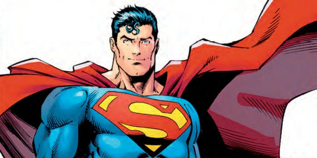 Superman - Art by Dan Jurger, Character Copyright DC