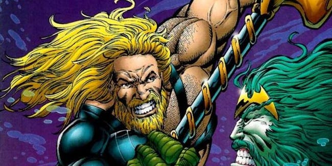 Aquaman character and art copyright DC comics