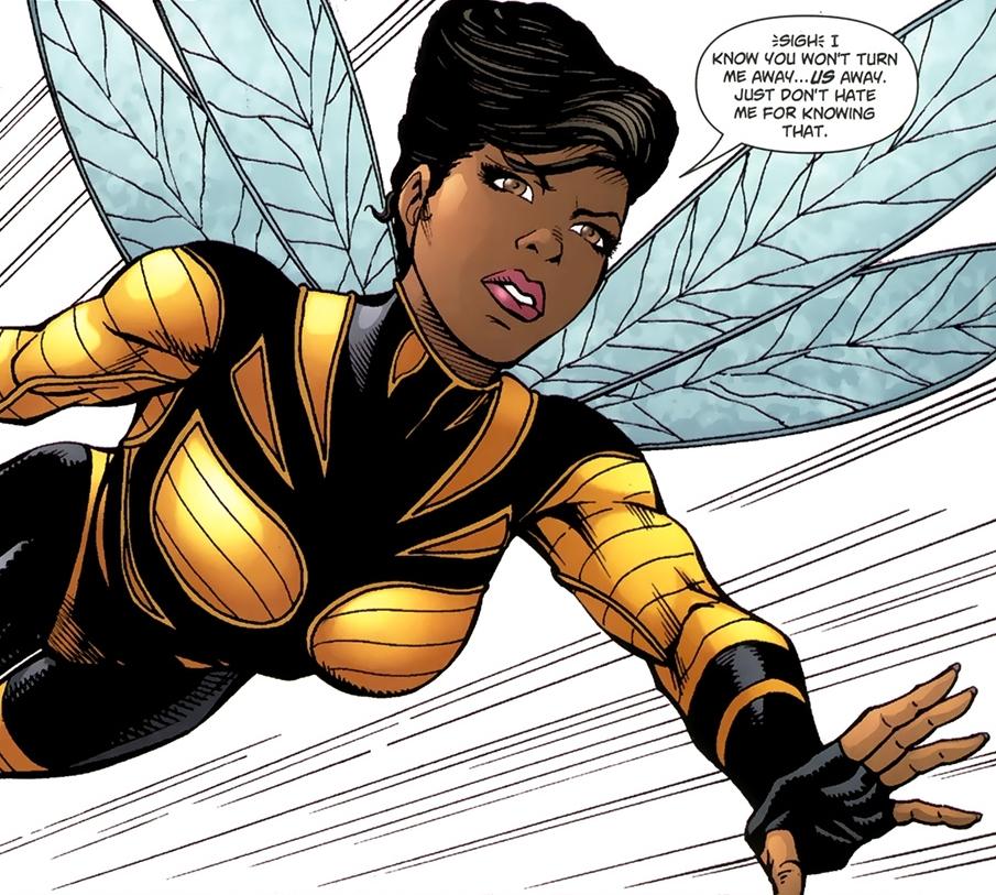 Bumblee bee character - Art By Karen Beecher-Duncan, Character copyright DC Comics
