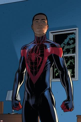 Spiderman/Miles Morales character and art copyright Marvel Comics