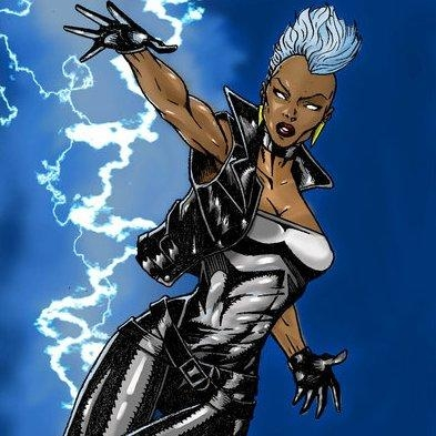 Storm character copyright Marvel Comics. Character Art unknown.