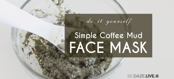 coffee face masks
