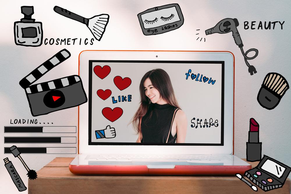 beauty blog graphic