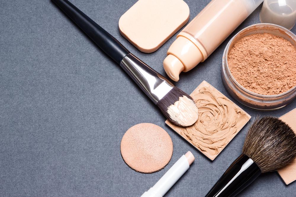 liquid and powder makeup